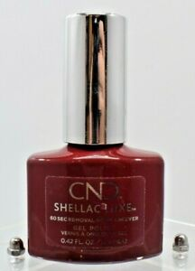 NEW IN BOX CND SHELLAC LUXE 60 Second Removal GEL POLISH (.42oz) Choose Colors