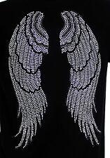 ANGEL WINGS  Rhinestones Iron on Transfer Hot Fix NO SHIRT