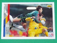 RARE FOOTBALL CARD UPPER DECK 1994 USA 94 FLORIAN PRUNEAU ROUMANIE ROMANIA