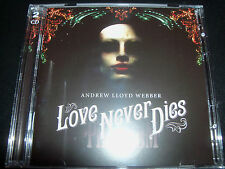 Love Never Dies Andrew Lloyd Webber Original Soundtrack 2 CD - New