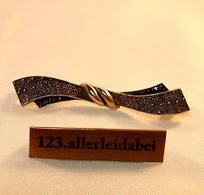 alte Theodor Fahrner Brosche 925 Silber um 1930 Markasite / AY 844
