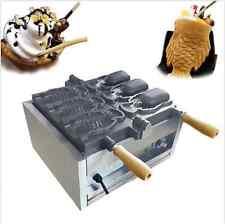 Fish Ice Cream Taiyaki Maker Machine electric open mouth taiyaki Machine