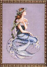 Mirabilia Cross Stitch Chart. MD84 Enchanted Mermaid  Cheap Shipping.