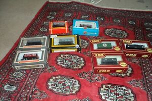 Lot of 8 mixed OO gauge wagons DAPOL, AIRFIX  and Hornby