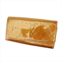 Louis Vuitton Key case Vernis Brown leather Woman Authentic Used C2939