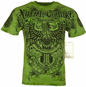 XTREME COUTURE by AFFLICTION Men T-Shirt PATRON Tattoo Biker MMA GYM S-4X $40