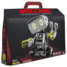Meccano Max M.A.X. Robotic Interactive Toy Artificial Intelligence Programmable