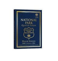 Whitman National Park Quarters Coin Folder Deluxe Edition 2010 Through 2021