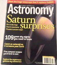 Astronomy Magazine Saturn Suprises October 2004 072217nonrh