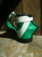 Green Black White Golf Bag Koozie Beverage Drink Pencil Holder 5.25 inches