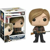 Funko Pop Games Resident Evil Leon S. Kennedy Vinyl Figure WITH PROTECTOR Gift