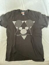 New listing pre-owned Mens Junk Food Mickey Mouse Gray T-shirt size:Medium