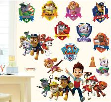 Vinyl Decal Decor DIY Paw Patrol Wall Art Stickers Removable Kids Nursery Dog UK