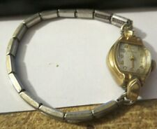 vintage Wittnauer deco manual wind women's watch Date 10k Gold Filled
