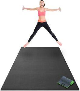 Yo Gorilla Mats Premium Large Exercise Mat 8 x 4 x 1/4 Ultra Durable Home Gym