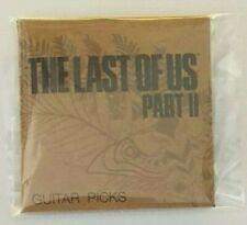 The Last Of Us Part II 2 - Guitar Picks - New & Sealed