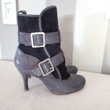 MODERN VINTAGE boots  SHOES BOOTS SZ 36.5,LEATHER F