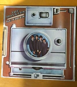 """THE MONKEES """"RE-FOCUS"""" WHITE LABEL PROMO!"""