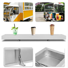 Drop-Down 00006000  Serving Shelf for Concession Stands and Food Trucks 4 Ft Load 44lbs