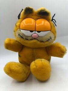 Vintage 1981 R Dakin & Co UFS Garfield The Cat Orange Plush Stuffed Toy Animal