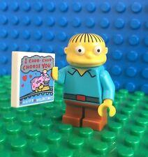 Lego 71005 The Simpsons RALPH WIGGUM book Minifig Minifigure Serie 1
