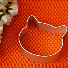 1 piece cookie biscuit cutter Mould shape. Cat Kitten Kitty Head.