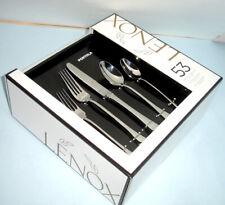 Lenox Portola 53 Piece Stainless 18/10 Flatware Service for 8 New Box