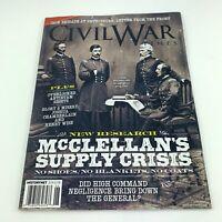 CIVIL WAR TIMES Magazine June 2020 Vol 59 #3 History McClellan's Supply Crisis