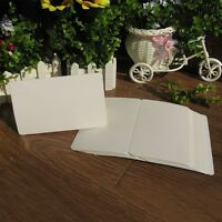 5PCS DIY School Note Gift Blank Greeting Card Message Card Kraft Paper Craft