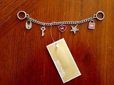 NWT Michael Kors Mini Bag Charm Handbag Key Chain Ballet New