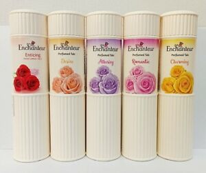 Enchanteur LARGE 100g Perfumed Talc Powder Body Freshness Choose Scent