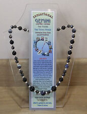"""GEMINI  Hand-made 18"""" Astrolgical Gemstone Necklace Plus FREE book and BOOKMARK"""