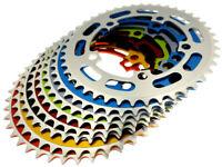 "Old School BMX Single Speed Fixie 7075 Alu Bike Chainring 44T 1/8"" BCD 110mm"