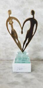 Yanni - True Love - Bronze Marble Sculpture