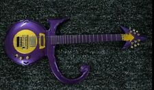 Prince tribute guitar mahogany body and neck purple rain finish gold hardware