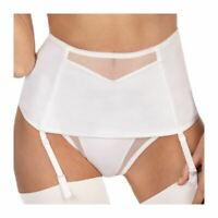 Triumph Shape Sensation S Suspender Belt White (0003) 10/12
