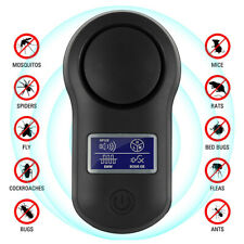 Ultrasonic Pest Repeller Plug in Electronic Repellent Mouse Spider Mosquito UK