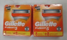 16 COUNT GILLETTE FUSION 5 REFILL CARTRIDGES ALSO FITS POWER SEALED - EL 729R