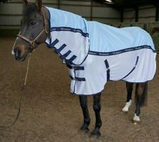 Whitaker Midgley Combo Fly Rug, Sky Blue , 5'6""