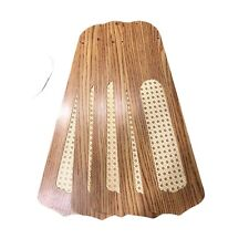 """Ceiling Fan Blades Oak With Cane 5 Blades  52""""  4 X 2 6/8 X 2 6/8  2"""" To Motor"""