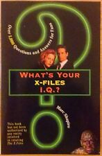 What's Your X-Files I.Q.? Softcover by Marc Shapiro Over 1000 questions/answers
