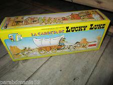 Lucky luke-Vente ancienne diligence en boite d origine-Comansi(1985)