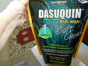 Nutramax Dasuquin with MSM Soft Chews 150 Count Large Dog Exp 2023