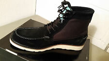 diamond supply co. shoes G I boot  NIB  black suede