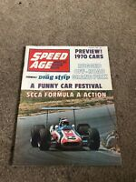 AUG 1969 SPEED AGE vintage car magazine