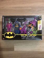 """Batman Missions Batman Vs Joker 2 Pack 6"""" Action Figures & Vehicle DC Mattel New"""