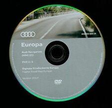 AUDI Navigation MMI 2G Western Europe 2017 DVD disc 2/2
