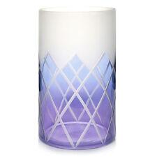 YANKEE CANDLE PURPLE LOTUS FLOWER LARGE JAR CANDLE HOLDER FAIRY GARDEN NIB