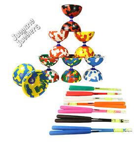 Juggle Dream Jester diabolo, superglass diablo handsticks and string set