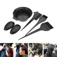 5PCS/SET Hair Dyeing Kit Hair Coloring Brush Bowl Comb Tinting Tool Set